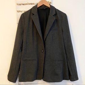 MOSSIMO NWT Gray Soft Career Work Blazer Button